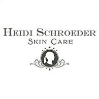 Heidi Schroeder skin care
